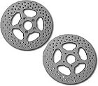 HD Drilled Vented Brake Rotor Disc Rear 5 Point Harley Softail Springer 2000-09