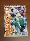 Deion Sanders 1996 Kenner Starting Lineup Card - Dallas Cowboys