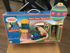 THOMAS & FRIENDS WOODEN RAILWAY WATER TOWER  FIGURE 8 TRAIN SET + BONUS PIECES