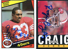 Roger Craig Cards, Rookie Card and Autographed Memorabilia Guide 20