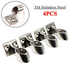 4PCS 7 8 316 Stainless Steel 60 Degree Boat Front Stanchion Hand Rail Fitting