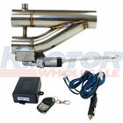 Exhaust Control E cut Out Dual Valve Electric Y Pipe 3 inch 76mm With Remote Kit