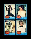 1977 STAR WARS TOPPS U.K. COMPLETE SET SERIES 1 *016