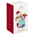 HALLMARK 2019 MAKING MEMORIES MILK AND COOKIES ORNAMENT