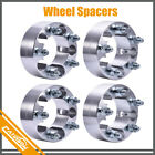 4Pcs 2 Wheel Spacers Adapters 5x45 For Jeep Wrangler Liberty Grand Cherokee