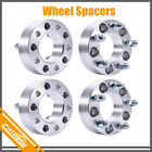 4Pcs 15 5x5 Wheel Spacers Adapters 14x15 For Jeep Grand Cherokee Tahoe GMC