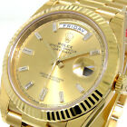 ROLEX DAY-DATE 228238 PRESIDENTIAL 40 mm YELLOW GOLD CHAMPAGNE DIAMOND