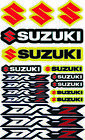 Suzuki DR-Z 125 DRZ 400 Fairing Decal Sheet High Quality Stickers Laminated /61