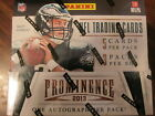 2 Factory Sealed Hobby Box Lot - 2013 Panini Prominence Football Cards