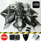 For Honda CBR600RR 2009-2012 Matte Black Fairing Kit ABS Plastic Bodywork + Bolt