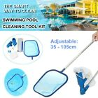 US Cleaning Maintenance Skimmer Net Swimming Pool Kit w Vacuum Skimmer and Pole