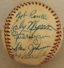 Circa 1961-65 Chicago White Sox Multi-Signed 22 AUTOS Baseball 3 Hall of Famers