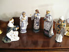 2011 Hawthorne Village Silent Night Wsrod Nocne Ciszy Nativity Collection