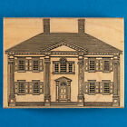 Mansion House Rubber Stamp by Stamp Cabana Two Story Building