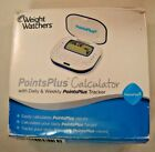 Weight Watchers Points Plus Calculator PointsPlus Blue Food Tracker NAC 4D