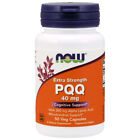 Now Foods PQQ 40mg with 200mg 50Caps Mitochondrial Extra Strength Alpha Lipoic