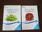 2 WEIGHT WATCHERS Books Complete Food  Dining Out Companion 2010 Points Plus