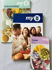 Weight Watchers MY WW NEW Green Blue Purple Plan Guide Book Success Planner +