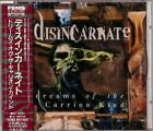 DISINCARNATE =DREAMS OF THE CARRION KIND= 1ST. JAPAN PRESS SEALED APCY-8122