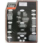 Colony - 1025-P - Allen Bolt Kit Harley-Davidson Softail Night Train EFI FXSTBI,