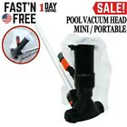 Portable Swimming Pool Vacuum Head Cleaner Cleaning Suction Equipment w Pole