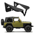 2Pcs Steel Tube Front Armor Fender Flares for 97 06 Jeep Wrangler