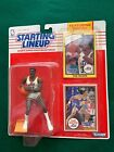 1990 Starting Lineup Karl Malone Action Figure w/ Rookie Year Collectors Card
