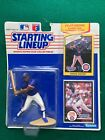 1990 Starting Lineup Jerome Walton w/ Rookie Year Collectors Card