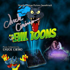 EVIL TOONS soundtrack CD Autographed / Personalized by Composer Chuck Cirino