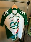 Vintage Nalini French Cycling Jersey Mens size L XL full zip