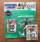 1997 Pat McInally Bengals Convention Starting Lineup Figure+2 Cards 1-1981 Topps