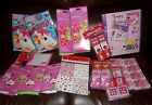 LOT Valentines Day PARTY Favors Crafts Door Hangers Frames Stickers Travel Pack
