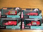 4 pc lot TEXACO ERTL DIE CAST TANKERS TRUCKS