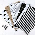 80pcs Set Scrapbooking Paper Handmade DIY Photo Album Background Basic Pattern