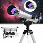 675x High Magnification Refractive Zoom Telescope Celestial Observation w Tripod