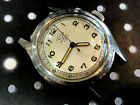 Vintage Pery men's wriswatch military sector dial utility rare blue steel hands