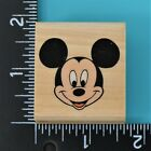 Mickeys Portrait 375 C Mickey Mouse Rubber Stampede Wood Mounted Rubber Stamp
