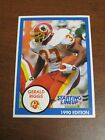 Gerald Riggs 1990 Kenner Starting Lineup Card - Washington Redskins