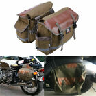 Motorcycle Saddlebags Side Tool Luggage Bags Pannier For Harley Sportster Dyna