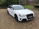 LARGER PHOTOS: Audi Rs4 Avant Quattro full spec car white with full mot and great condition