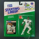 1989 Kenner NFL Frank Minnifield Browns Starting Lineup Football Action Figure