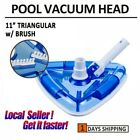 Swimming Pool Triangular Vacuum Head Cleaner 11 INCH