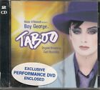 Boy George ‎Promo cd /Dvd set Taboo Original Broadway Cast Recording NEW sealed