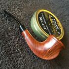 GBD Unique, Natural. Horry Jamieson carved, Grade A Mint Estate, SI Pipe Dude