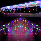 LED Christmas Fairy Icicle Light Lamp Xmas Wedding Party Indoor Outdoor Decor DD