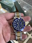 Rolex 16613 Y Serial Submariner Date 18k/SS  Blue Dial SEL Complete Box + Papers