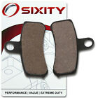 Front Organic Brake Pads 2014 Harley Davidson FXDC Super Glide Custom Set nd
