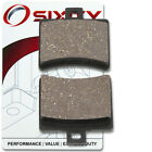 Rear Ceramic Brake Pads 2004-2005 Aprilia Scarabeo 125 Set Full Kit  Complet yx