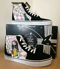 Vans Nightmare Before Christmas Sk8 Hi Mens Trainer GLOW IN THE DARK UK 105