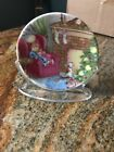 HALLMARK WAITING FOR SANTA #2 COLLECTOR'S PLATE SERIES 1988 CHRISTMAS ORNAMENTS